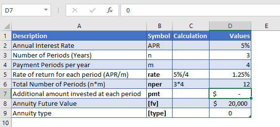 pv function example 1 data