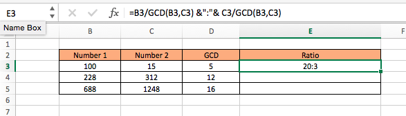 Get The_ratio_of_two_numbersxlsx - Microsoft Excel ア Insert Page ...