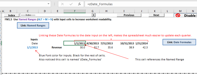 You will learn how to navigate Excel efficiently