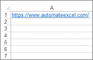Add a Hyperlink to a Cell with VBA