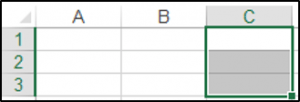 Selecting a Column in a Range Object