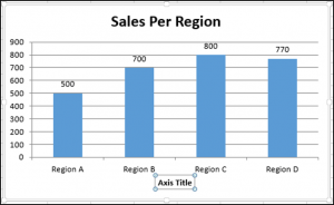 Adding an X-axis and Axis Title Using VBA