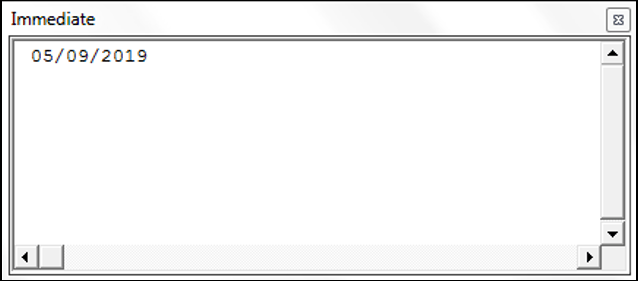 Using the Date Function in VBA