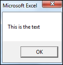 Concatenating Text in VBA with Spaces