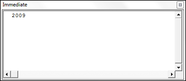 Using the DatePart Function in VBA
