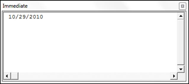Using the DateValue Function in VBA