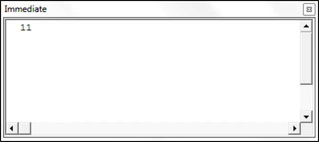 Using the Month Function in VBA