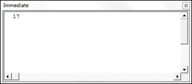 Using the Second Function in VBA