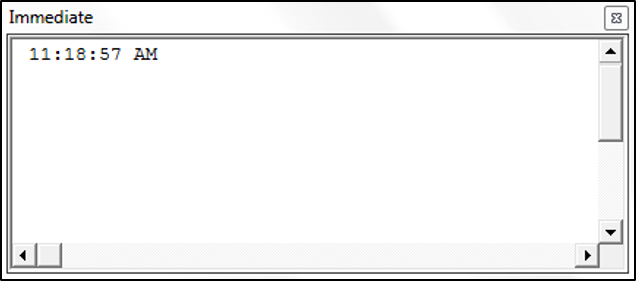 Using the Time Function in VBA