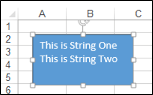 Using vbCrLF to add new lines in VBA