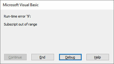 vba set array value
