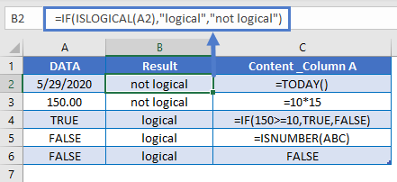 IF ISLOGICAL