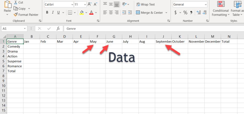 Preparing Data for Charts