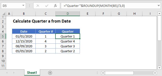 Quarter Main Function