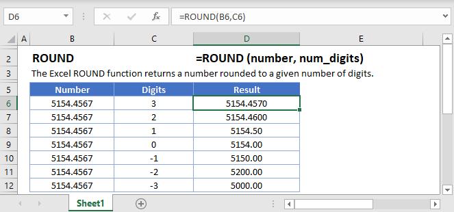 Round main