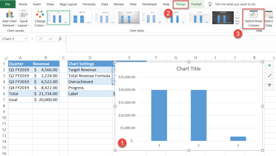 Switch Row/Column in Excel