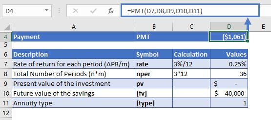 PMT Example 02